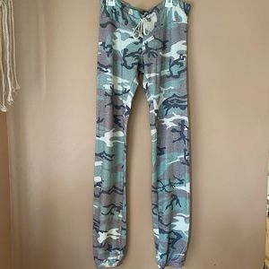 Wildfox Camouflage Sweatpants